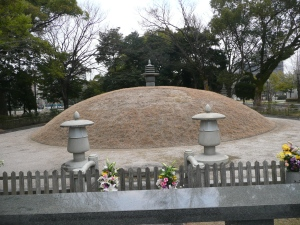 Unidentified remains were buried and burned in a giant mound. Many remain in this spot today.