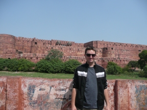 At Agra Fort., which at various points in time was the seat of government in India